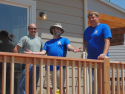 Project James assists foster parents with safty improvements to their homes