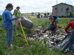 In 2008 VCPC sent a team to join in the work at Pine Ridge Reservation, SD.